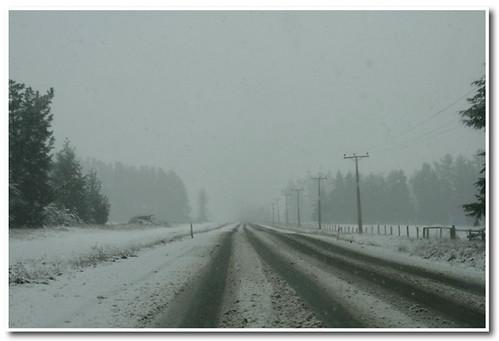 遇到一場大雪