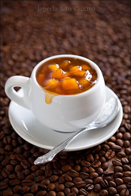 Peach-Coffee Jam