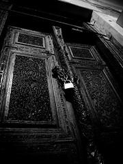 ( ) Tags: door bw olympus azghad