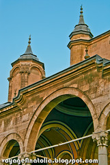 Konya Aziziye Mosque (voyageAnatolia.blogspot.com) Tags: travel building art architecture turkey construction arch spires islam arches mosque spire turkish islamic konya arched aziziye alem voyageanatolia