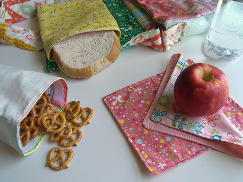 Eco-Friendly Handmade Lunch Bag Set