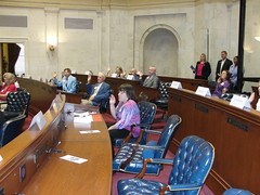Mock Session for people with disabilities 2010