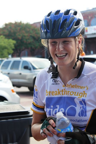 Alzheimer's Breakthrough Ride: Researcher Jerrah Holth