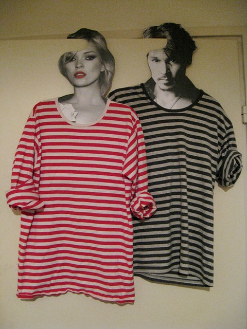 Trashion hanger Kate Moss Johnny Depp 1