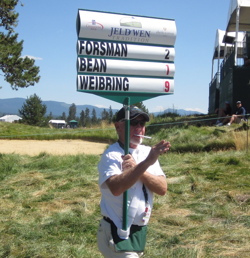 Jeld Wen Tradition Champions Tour, Second Round,  Crosswater Sunriver