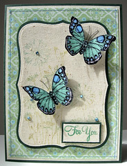Crackled Butterflies (heather maria) Tags: fabric stitching wildflowers sewingmachine messages gems heroarts distressinks cuttlebug crackleaccents cl181 antiqueengravings labels8 cl383 k5404 august2010b august2010bbadge