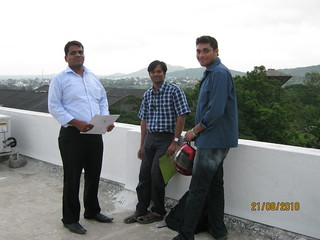 IT Professionals from Talawade MIDC IT Park with Amrish Bhosale at Balador on Talegaon Chakan Road, Talegaon