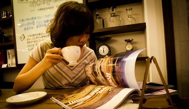 Chialin @ Haaya's Coffee