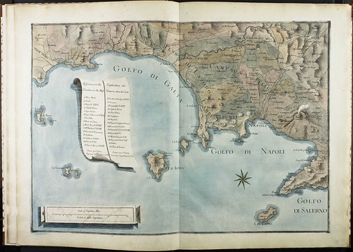 Map of Tyrrhenian Sea (Vol. 1)