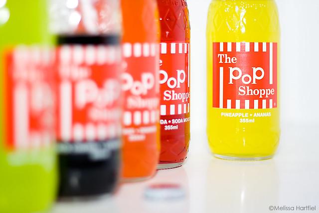 Pop Shoppe Pop bottles