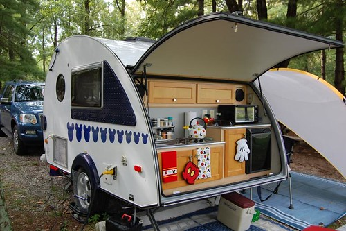 The return of the T@B to the lightweight travel trailer market should be interesting to watch. Little Guy has been known in recent years as a company that ...