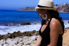 0009_SuzieTest (katNovoa) Tags: lighthouse southbay beachhat pointvincent shortblackdress suzielara