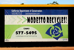 Billboards (Bandero2007) Tags: ads nuts billboard modesto commercial recycling johnthurmanfield