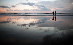 walk with me (Helminadia Ranford(Traveling)) Tags: bali reflection beach indonesia seminyak