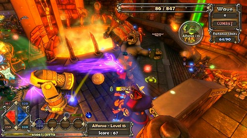 Dungeon Defenders - Gameplay