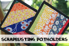 Scrappy Potholder Tutorial
