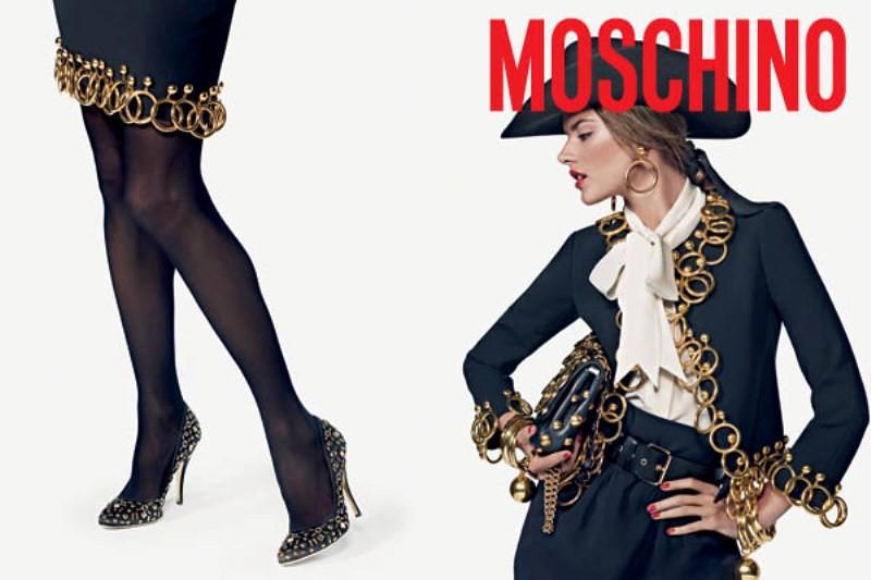 moschino fall 2010 ad campaign
