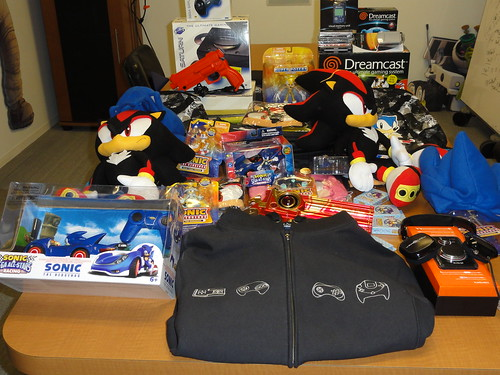 Our Pile o' Swag for the PAX Community Event