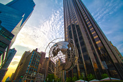 World within a World (andrew procter) Tags: nyc newyork buildings globe wideangle 1022mm canonxsi