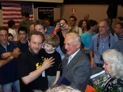 Buzz Aldrin (Air Force One) Tags: moon luna aq 2010 apollo11 tagliacozzo buzzaldrin moondream avezzano terrediconfine cinemamultisalaastra ilcielodiargoli marcomorocutti