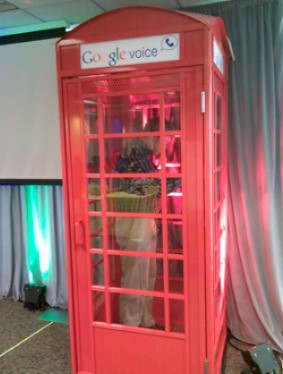 Google Voice Phone Box