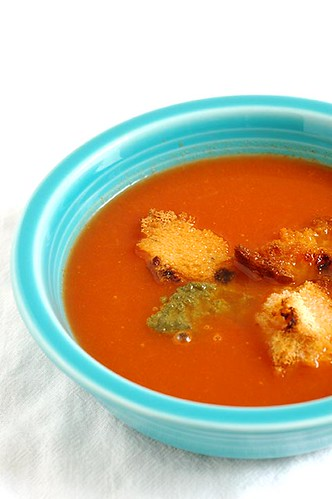summer tomato soup