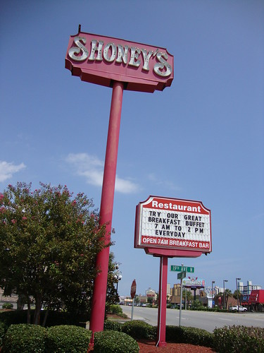 the shoney's sign