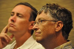 The Thinker (jurvetson) Tags: bill education gates foundation brainstorming nonprofit philanthropy bilgates