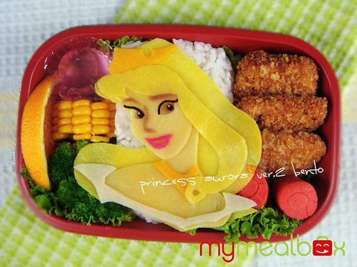 Princess Aurora ver.2 bento