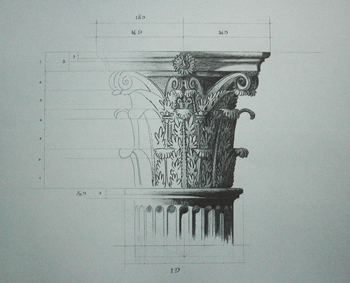 pencil study of corinthian capital[2]
