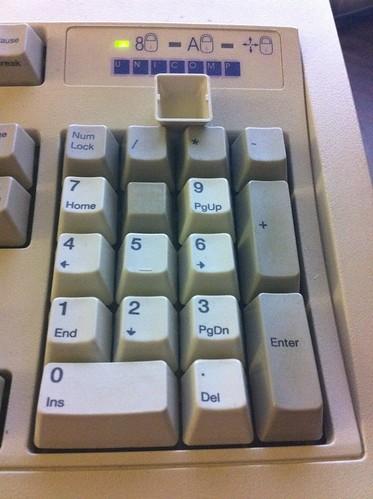 Unicomp 2-piece keycap