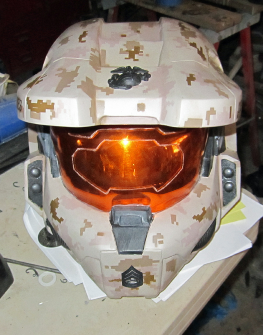 Sheryl's Helmet
