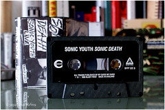 sonic youth : sonic death (tape) (japanese forms) Tags: rock analog typography graphicdesign artwork experimental dof bokeh 1988 tape chrome analogue cassette albumart sonicyouth audiocassette cassettetape nowave thurstonmoore kimgordon magnetictape steveshelley leerenaldo sonicdeath blastfirst fontsinuse ecstaticpeace myearsmyears bokehhearts sonicyouthlive earlysonic japaneseforms2010 bffp32c ilovetapehiss