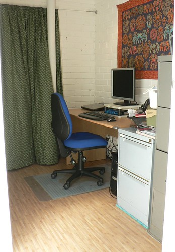 Richard's newly renovated office