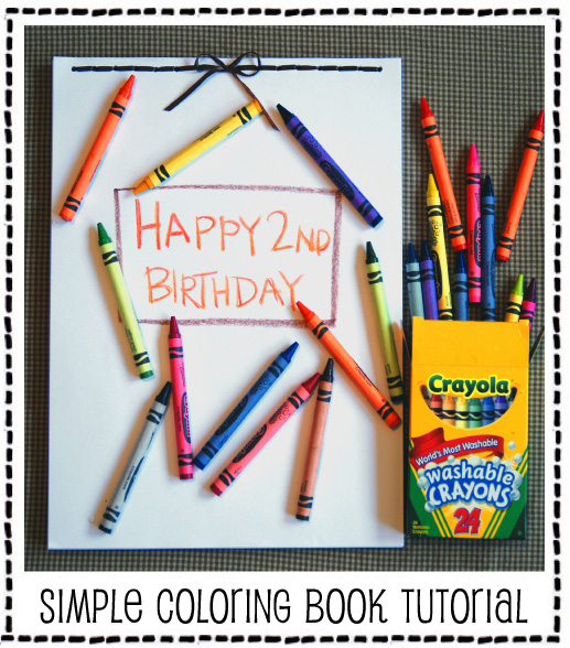 Simple Coloring Book Tutorial
