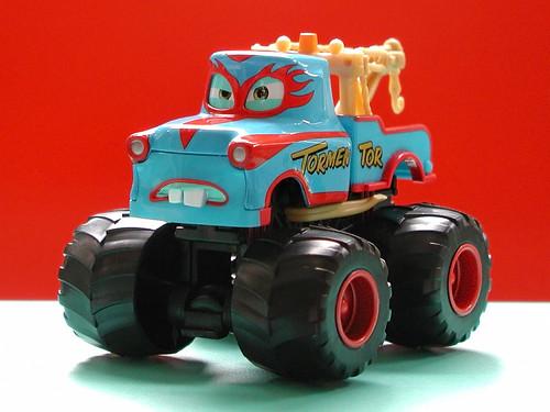 Mattel Cars Toons Monster Truck Mater Diecast The Tormentor