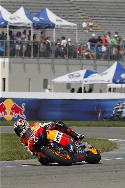 Dovizioso fue quinto en Indianápolis