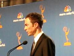 Jim Parsons Emmy 2010