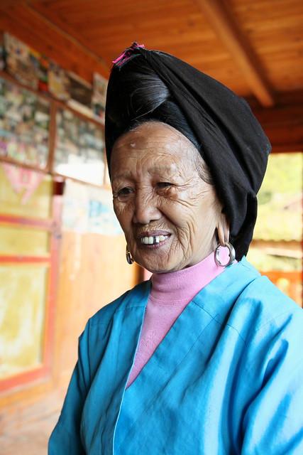 Yao woman, Guangxi, China