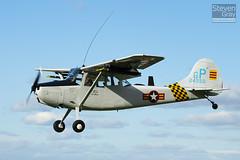 G-PDOG - 24550 GP - 24550 - Private - Cessna O-1E Bird Dog - Little Gransden - 100829 - Steven Gray - IMG_4944