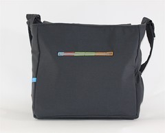 Tetris Messenger Bag Zipper