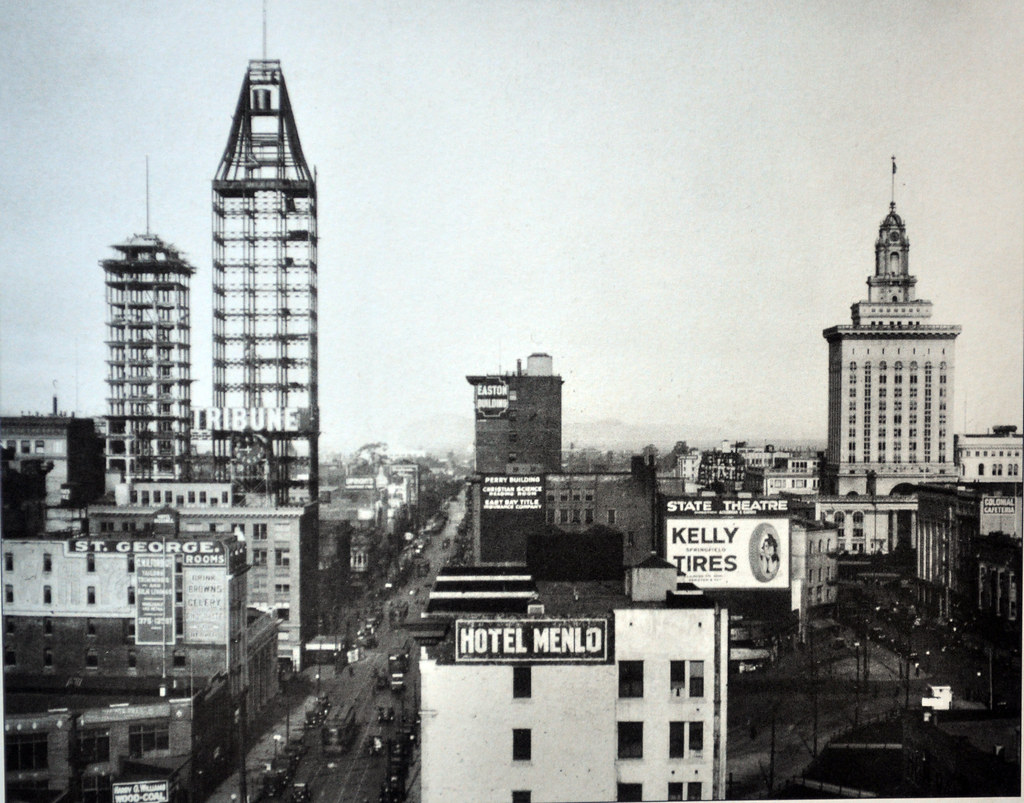 Oakland downtown 1922