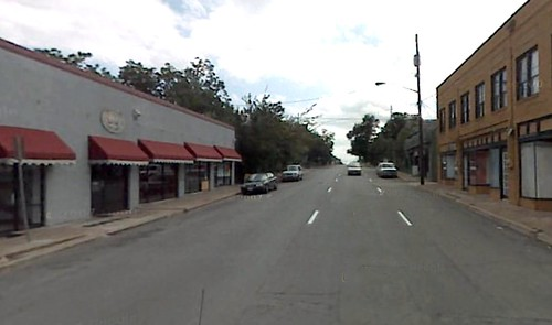Tyler Street at 7th in Oak Cliff (via Google Earth)