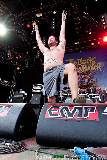 Trevor Strnad ,The Black Dahlia Murder, Summer Breeze Open Air 2010, Live, Festival, Show