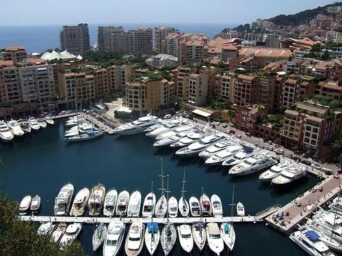 Fontvieille Harbour, Monaco