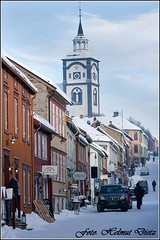 Downtown Røros, Norway