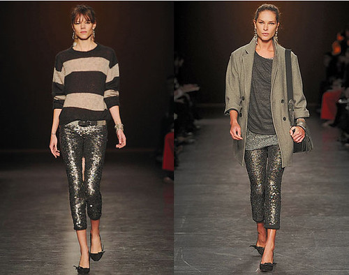 Sequin Pants - Isabel