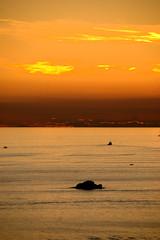 Sunset in Vrsar (Niccol Caranti) Tags: sunset red sea sky orange water mediterraneo barca tramonto nuvole mare croatia burn cielo acqua rosso croazia arancione istria isola adriatico hrvatska orizzonte republika istra vrsar brucia orsera nikond40x dsc3080