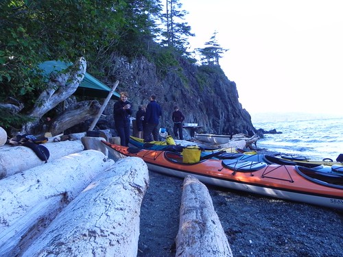Seakaying at Vancouver Island