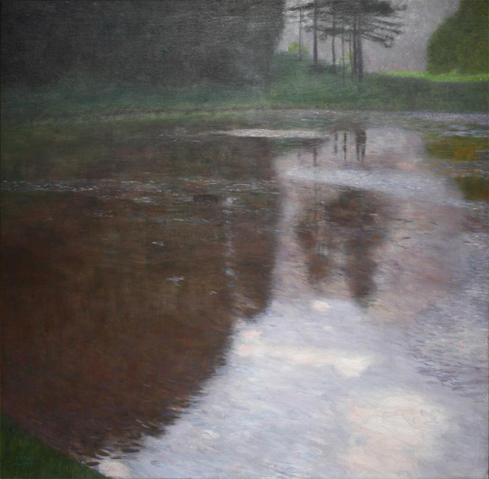 Gustav Klimt, Stiller Weiher [Tranquil Pond], 1899